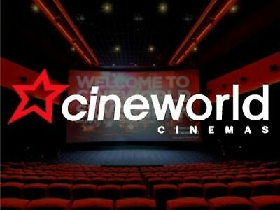 💖 2 for 1 Cinema Ticket Code Cineworld Odeon Vue Tuesday/Wednesday 28/29th May