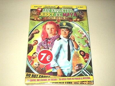 "#  DVD "" les enquetes de jerry et maya ; le secret de von broms """