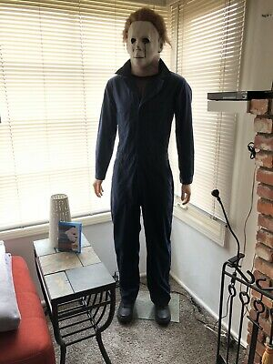 Life Size MICHAEL MYERS Halloween movie mask prop statue horror figure lifesize