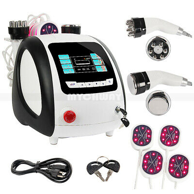 40K Cavitation Ultrasound Multipolar RF Lipo Laser LED Therapy Slimming Machine