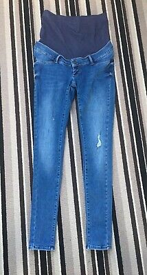 08d46657793fa SERAPHINE MATERNITY SKINNY Jeans (over the bump) Size 10 - £35.00 ...