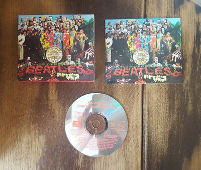 The Beatles - Sgt. Pepper's Lonely Hearts Club Band - CDP 7464422