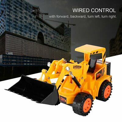 Wire Control Simulation Forklift 5CH Construction Toys Sets Power Truck K9Y