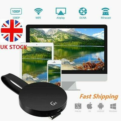 Chromecast 4rd Generation HDMI Digital Video HD 1080P Media Streamer For Google