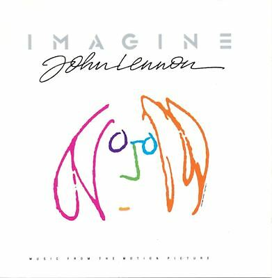 cd JOHN LENNON Imagine - Music From The Motion Picture 1988 EMI RECORD ENTRA!!!