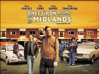 Once Upon a Time in the Midlands - Original D/S UK Quad Poster - Shane Meadows