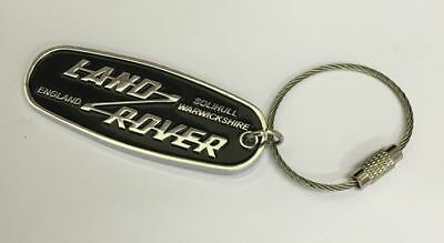 Brand New Genuine Land Rover Heritage Key Ring - STC62071 - New In Packaging