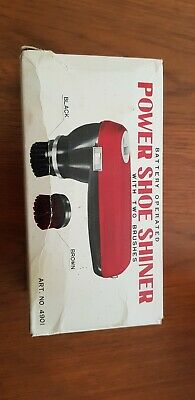 Vintage Battery Operated Power Shoe Shinner