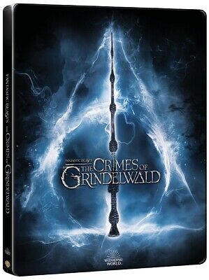 Fantastic Beasts : The Crimes of Grindelwald (2Disc : 3D+2D Blu-ray) STEELBOOK