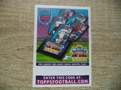 Match Attax Champions League 2018/19 Limited Super Squad online Code