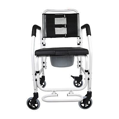 PE Care 3 in 1 Commode, Shower Chair, Transport Chair On Wheels, Ausstock