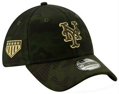 sports shoes fbd95 9b5cf New Era 2019 MLB New York Mets Hat Cap Armed Forces Day 39Thirty 3930  12039518