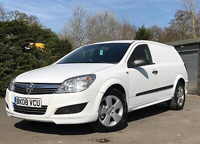2008 / 08 Vauxhall Astra Van 1.7 Cdti - Xp Sport Kit - 6 Speed - No Vat