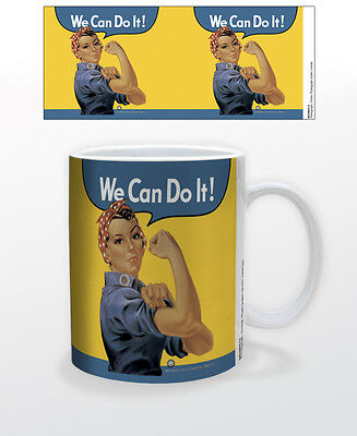 Rosie The Riveter 11 Oz Cup We Can Do It American Cultural Icon Working Women!!!