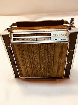 Vintage Zenith Solid State Radio Portable