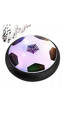 kids Hover Ball Football Game Toys Powerful LED Light Music Air Power Floats