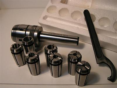 Amadeal - Milling Collet Chuck Set - MT3/Metric M12 Drawbar