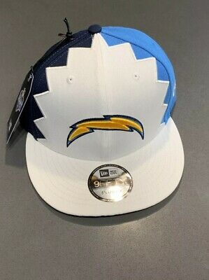 huge discount adb5c b7dfe Los Angeles Chargers New Era 2019 NFL Draft On-Stage Snapback 9Fifty Hat