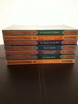 The Chronicles Of Narnia By C.S. Lewis Complete 7 Book Box Set