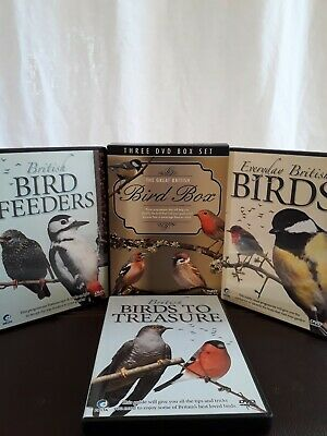 The Great British Bird Box (DVD, 3-Disc Set, Box Set) B9