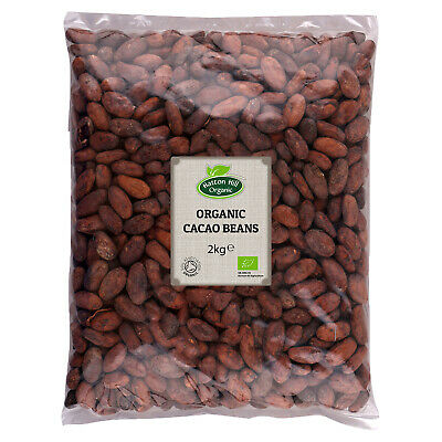 Organic Cacao Beans 2kg Certified organic