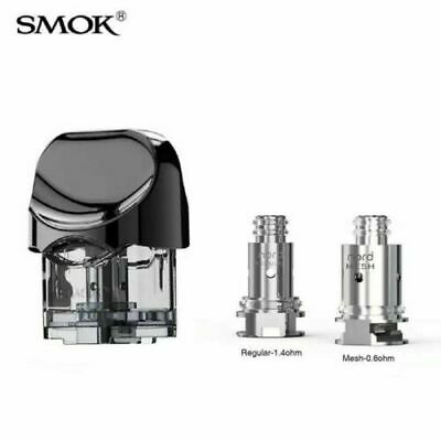 SMOK Nord Replacement Pod 2ml for SMOK Nord AIO Kit Genuine Authentic Seller