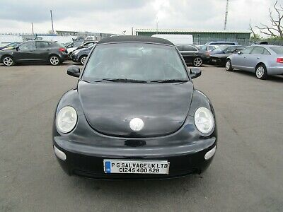 2004 Vw Beetle Cabriolet 1.6 Petrol 5 Speed Spares Or Repairs!!!!!! Hpi Clear!!!