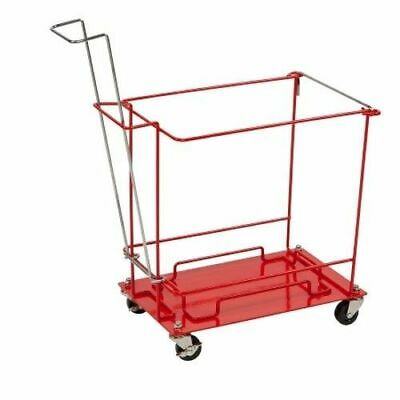 SharpSafety Sharps Container Floor Cart With Wheels 8992H - Open Box Special