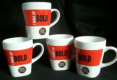 Nescafe Coffee Mugs White Dolce Gusto Cup n0wmNOv8