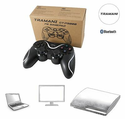 Bluetooth Wireless Controller Gamepad PC/PlayStation PS3  Sixaxis Vibration