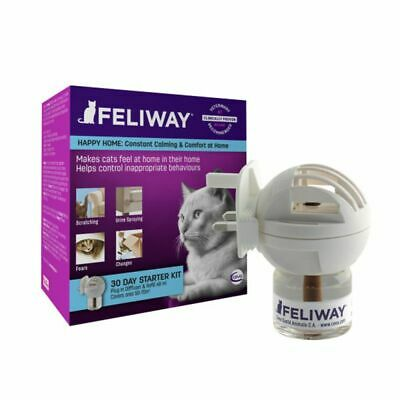 FELIWAY CLASSIC PLUG IN DIFFUSER +48ML Refill Pack Cat Stress Relief NEW FORMULA