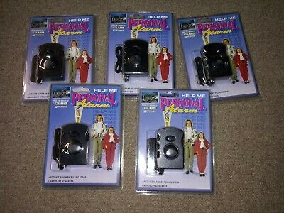 5 Pack Safesound Personal Alarm, Emergency Safety Key Chain USA seller free ship