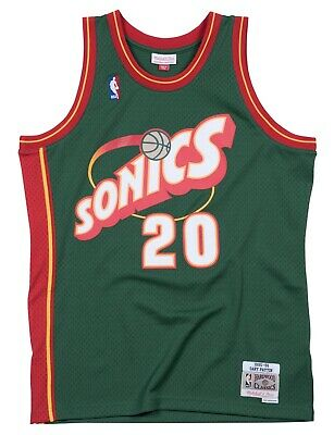 08cf46725e66 Gary Payton Seattle Supersonics NBA Mitchell   Ness Youth Swingman Jersey
