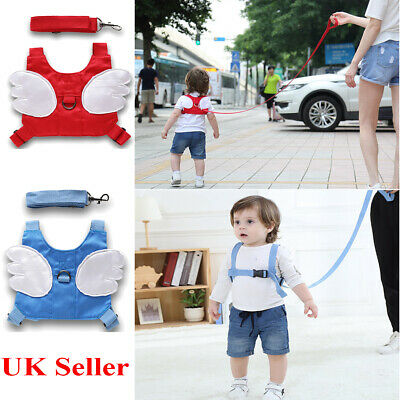Child Toddler Kids Baby Safety Harness Anti-Lost Strap Wrist Leash Walker Leash