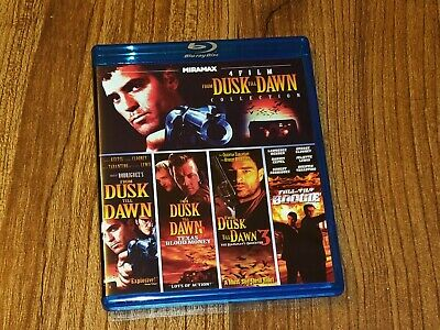From Dusk Till Dawn 4 Film Collection Blu-ray