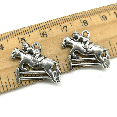 8//30//150pcs Antique Silver Beautiful Flowers Jewelry Charms Pendant DIY 32x24mm