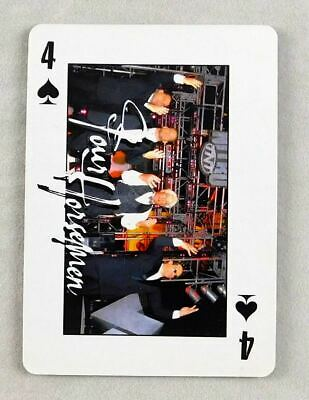 Ric Flair Horsemen WCW Pro Wrestling Playing Card 4 Spades Wrestler WWE NWO