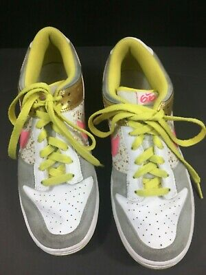 Details about WOMEN'S 2009 NIKE AIR 6.0 342257 062 GRAY WHITE SPARKLE GOLD GLITTER SIZE 8.5