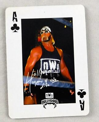 Hulk Hogan WCW Pro Wrestling Playing Card A Spades Wrestler WWE NWO