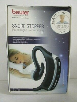 Beurer Snore Stopper Sl70 Peaceful Nights Snoring Aid Device Bluetooth - Nt 4932