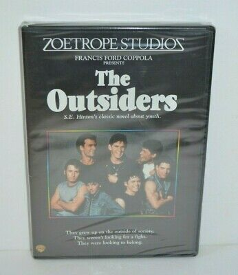 The Outsiders DVD New Sealed Francis Ford Coppola Film Matt Dillon Zoetrope