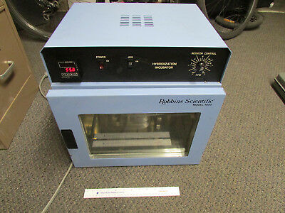 Robbins Scientific Hybridization Incubator Model 1000 Tested Working