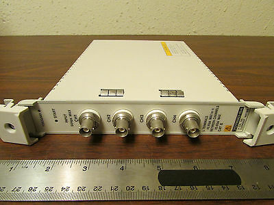 Yokogawa WE707690-S4 4-Channel DC Current Meter VXI Plug