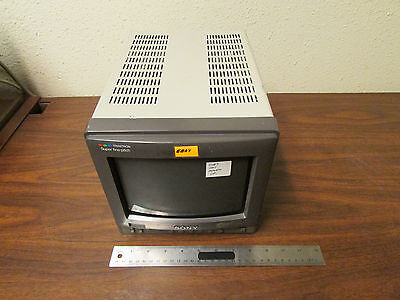 Sony Trinitron Color Monitor PVM-8221 Fine Pitch As-Is