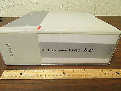 HP Instrument BASIC User's Handbook Version 2.0