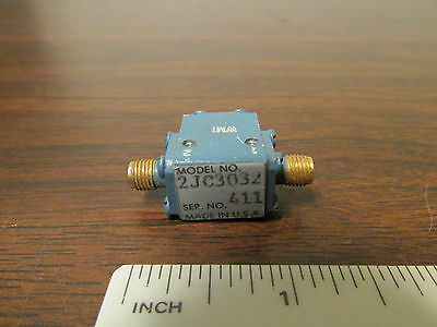 SMA RF Microwave Isolator 2JC3032 Female Connectors