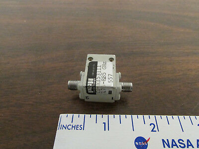 P&H Laboratories C1-X15311 7.75 - 8.85 GHz Microwave SMA Isolator