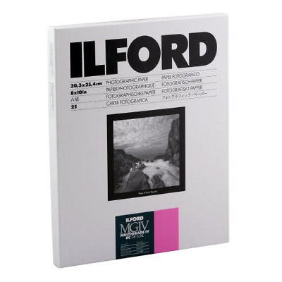 Ilford Multigrade IV RC Deluxe Resin Coated VC Variable Contrast - Black and 25