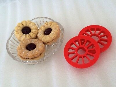 Jammy Dodger Biscuit Cutter Large Size 85mm Cutting Diameter