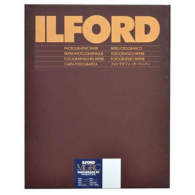Ilford Multigrade Ivrc Pearl Warmtone Deluxe 20.3x25.4 8x10 100 Sheets